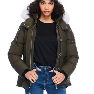 Moose Knuckles 3Q Jacket with White Fox Fur